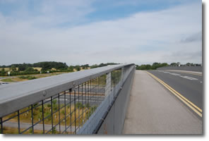 bridge over A64