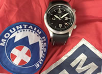 Elliot Brown limited edition Mountain Rescue watch
