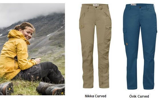 Fjallraven Curved Fit Trousers
