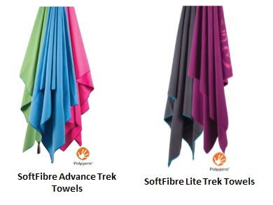 SoftFibre Trek Towels